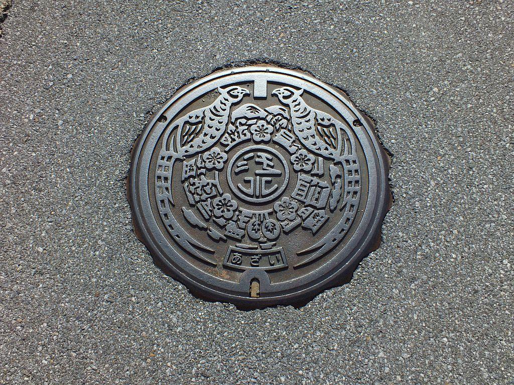 Manhole in Asai-cho