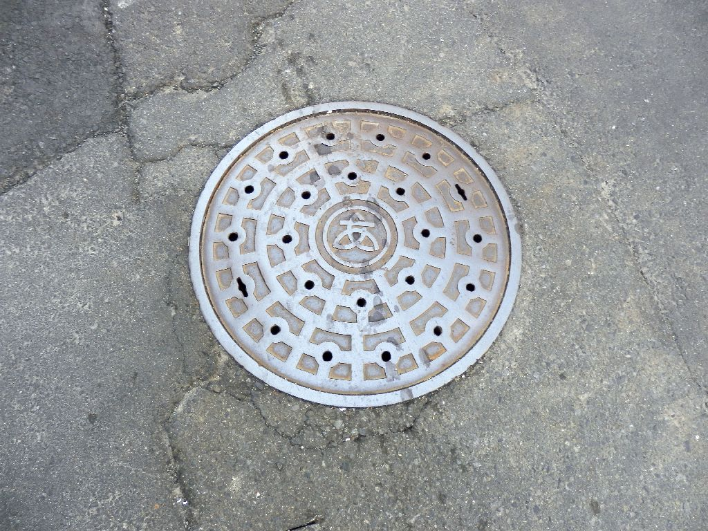 Manhole in Atsugi City