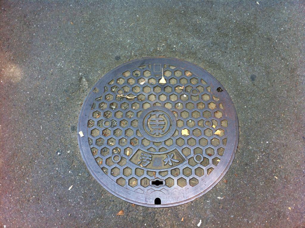 Manhole in Tokyo