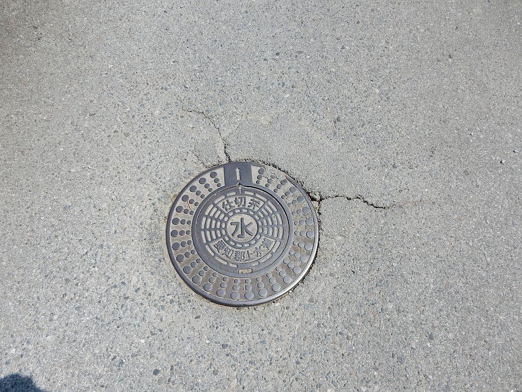Manhole in 秦荘町
