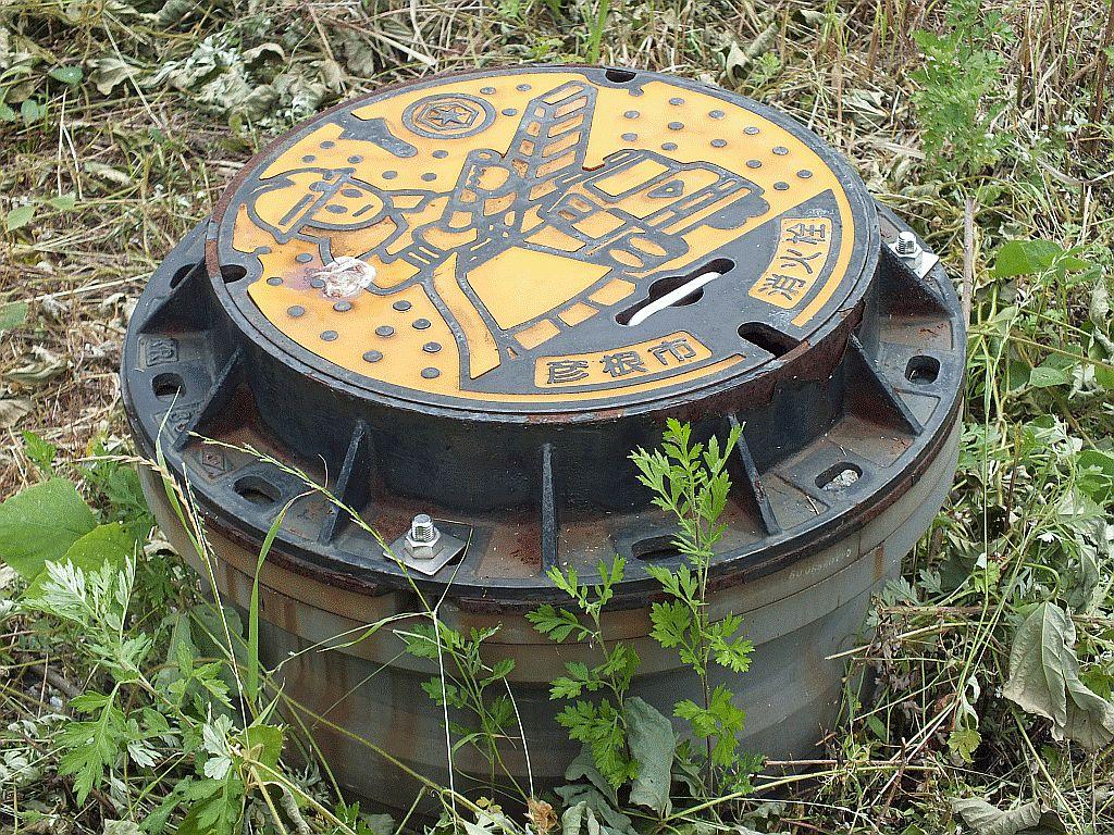 Manhole in Hikone