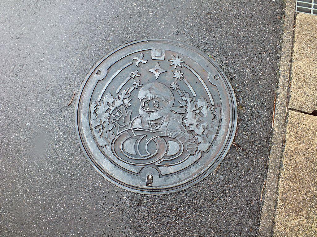 Manhole in Iga