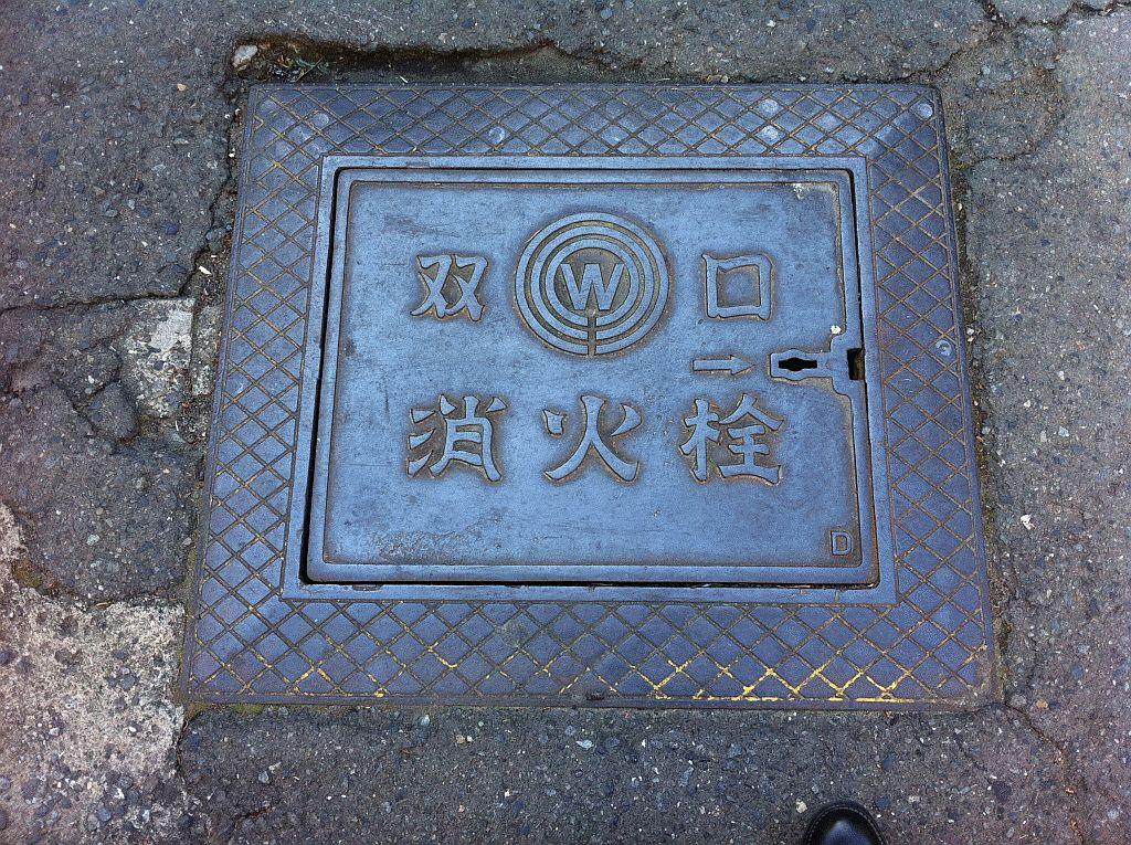 Manhole in Kawasaki-shi