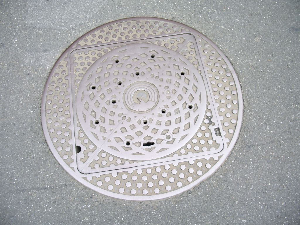 Manhole in Mitaka