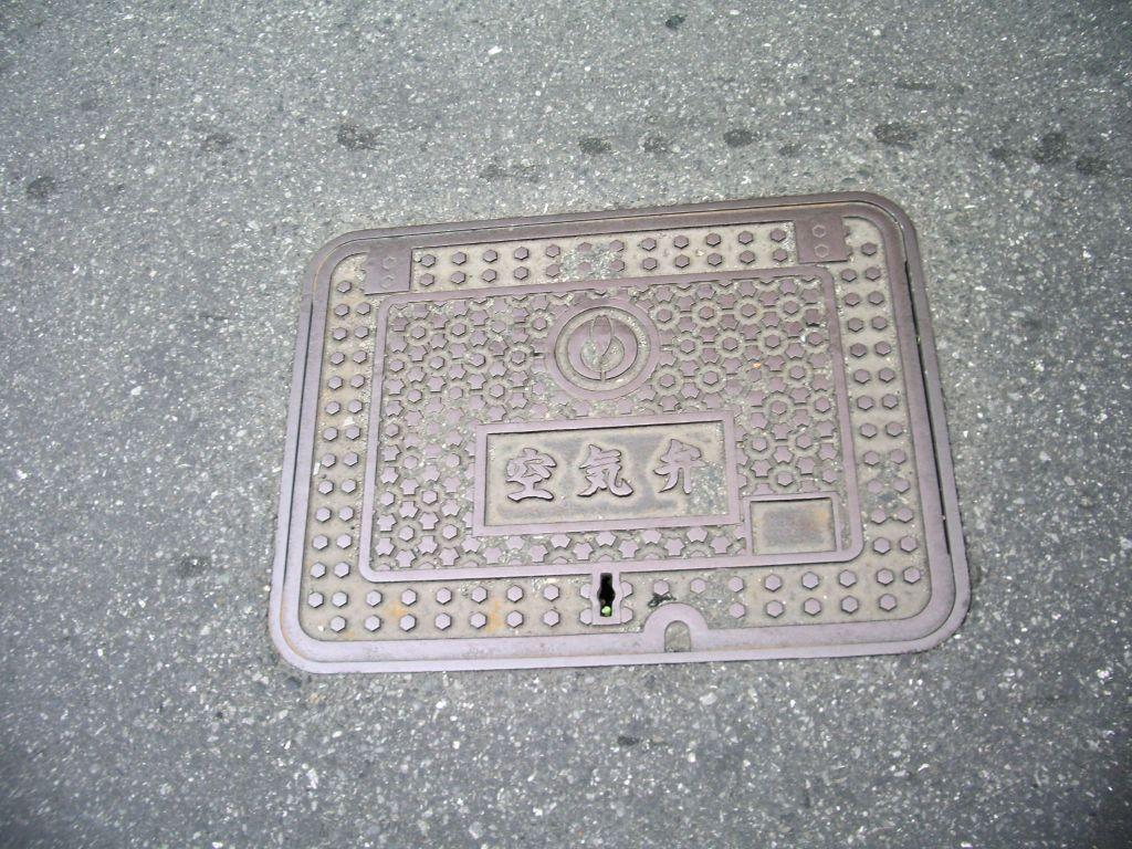 Manhole in Koganei, Tokyo