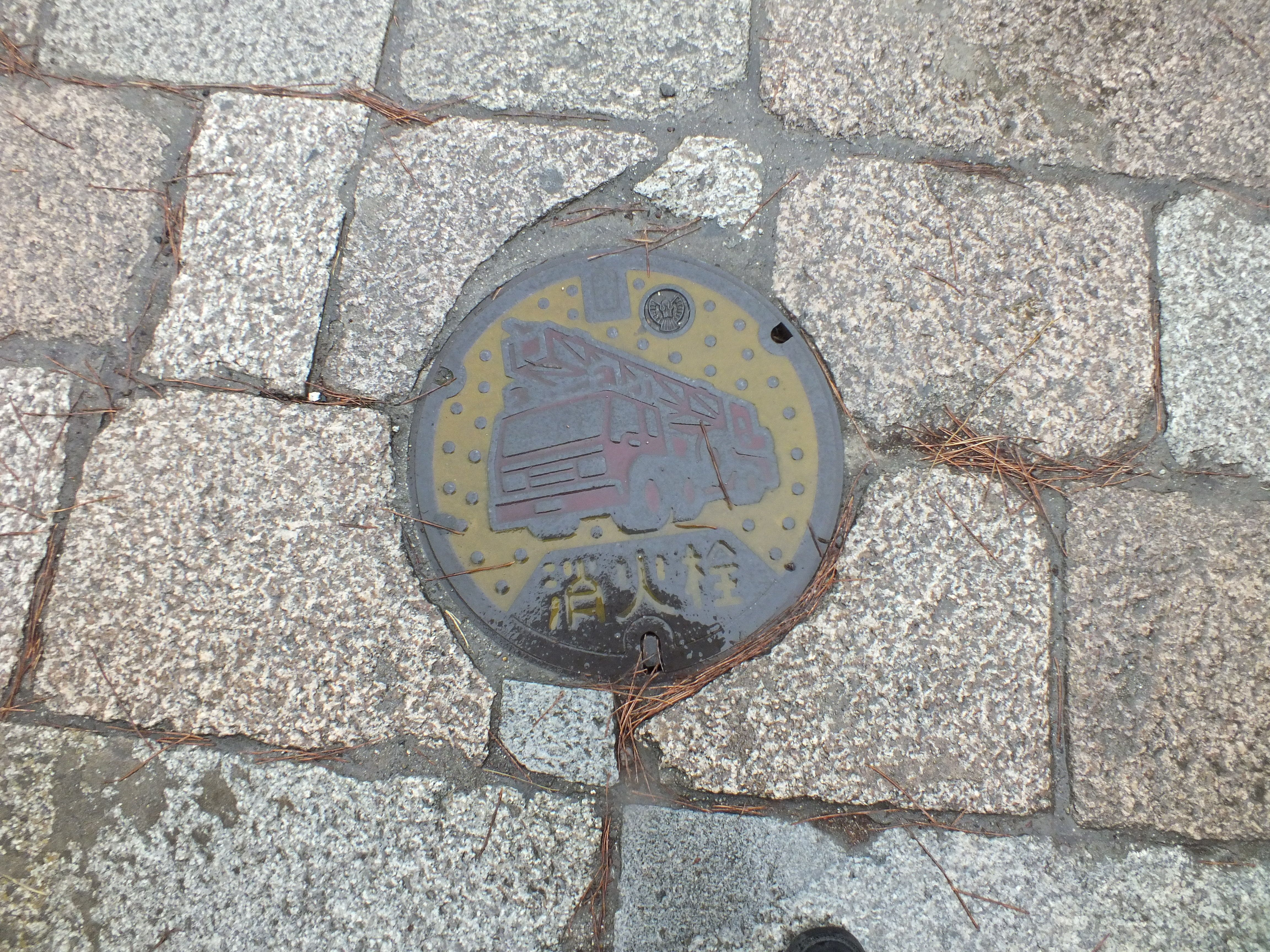 Manhole in Katsuragi city