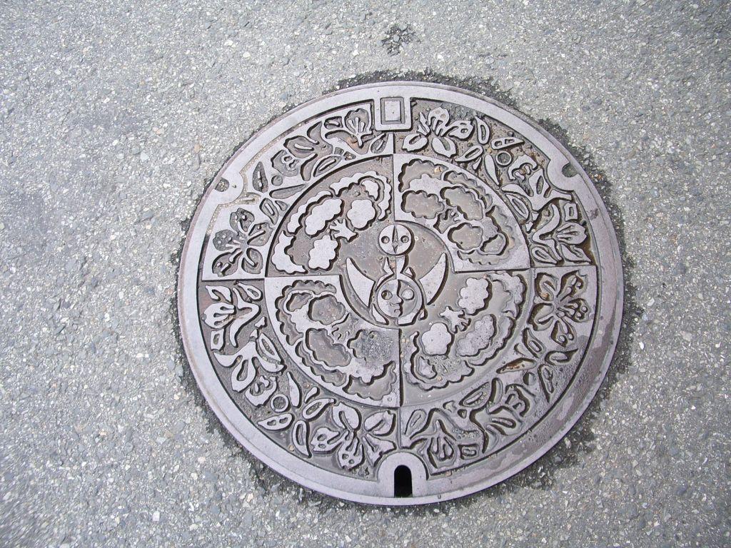 Manhole in Suita-shi