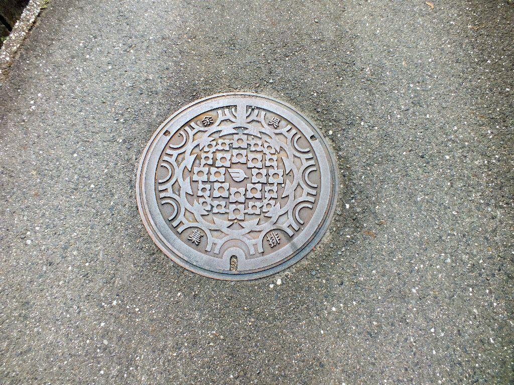 Manhole in Yogo
