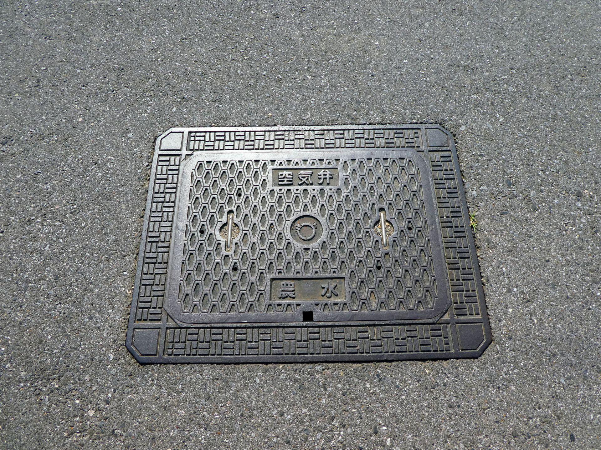 Manhole in Higashi-Ohmi