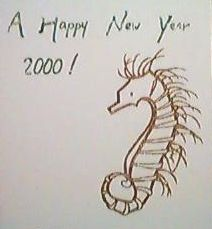 New Year Greeting 2000