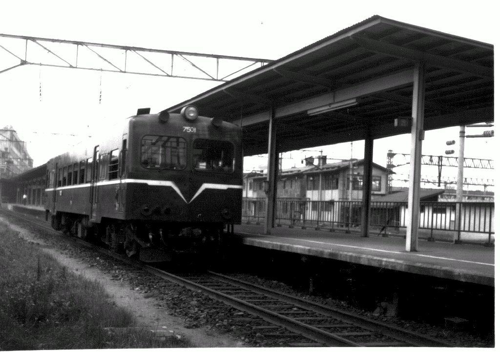 定山渓鉄道 キハ7000