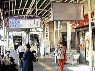 In front of Nishi-Kuwana sta.