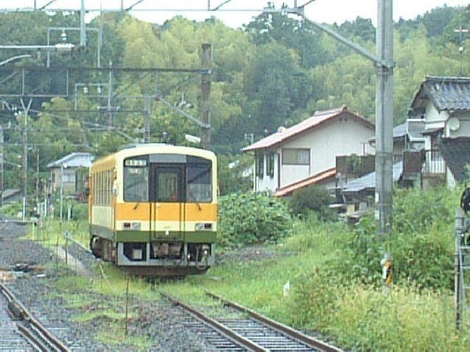 山陰本線宍道駅の木次線車両