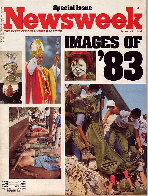 NEWSWEEK 1984年1月02日号