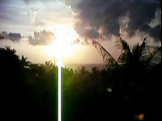 Sunset at The Ritz Carlton Bali