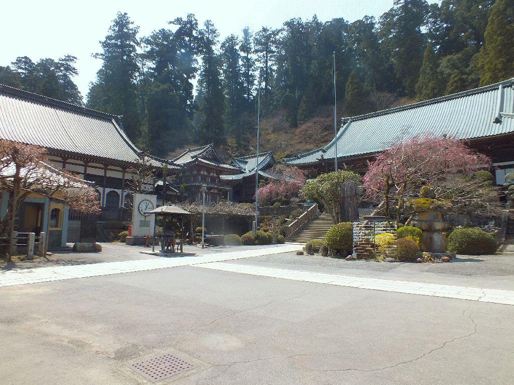 大雄山最乗寺本堂と書院