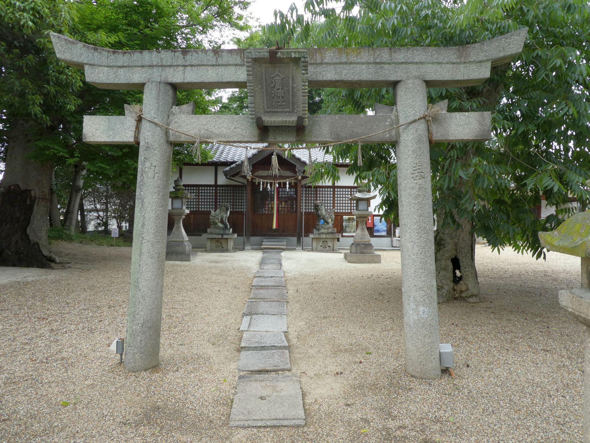 地黄町の人麿神社