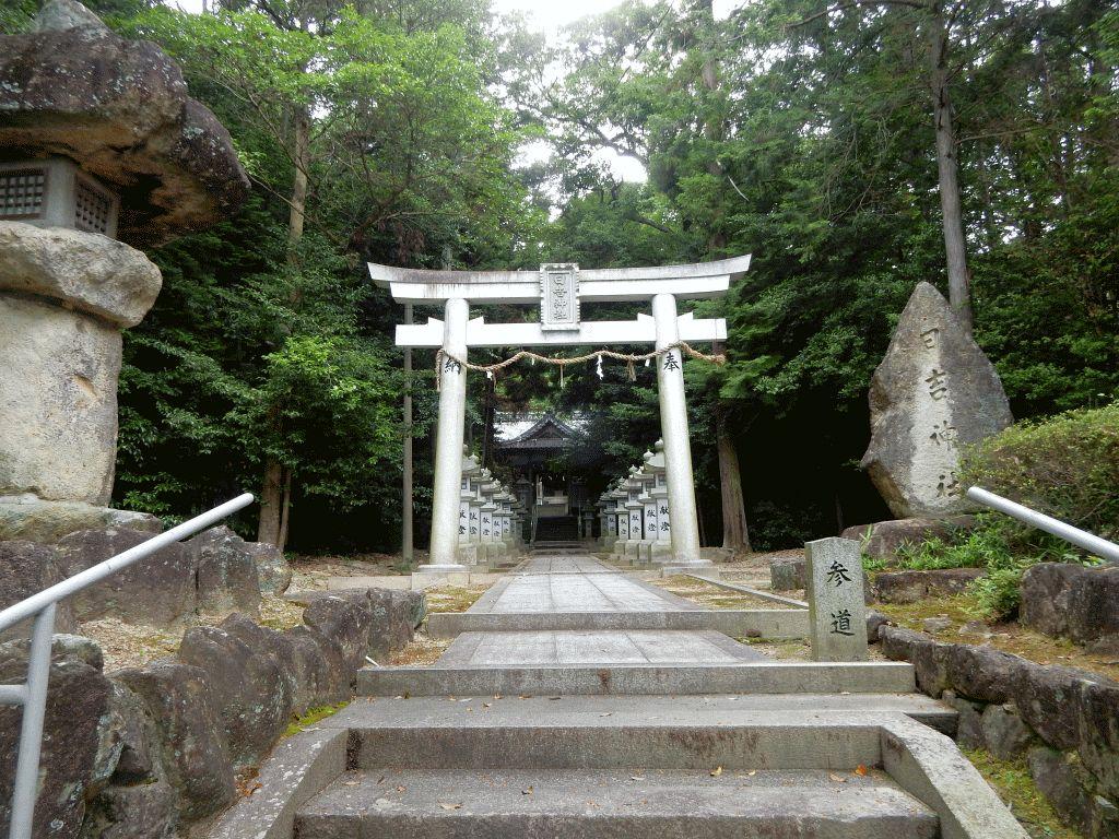 新巻の日吉神社