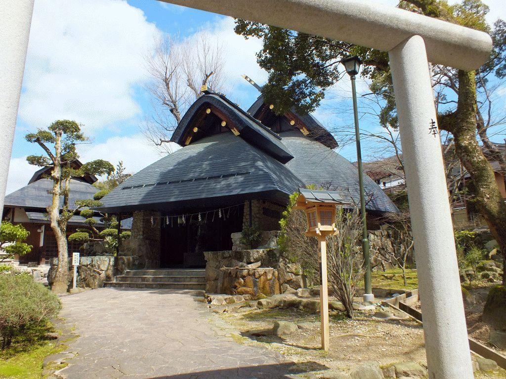 石切神社上之社