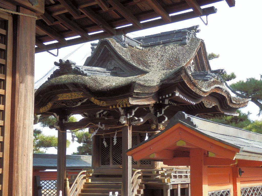 唐崎の松と唐崎神社