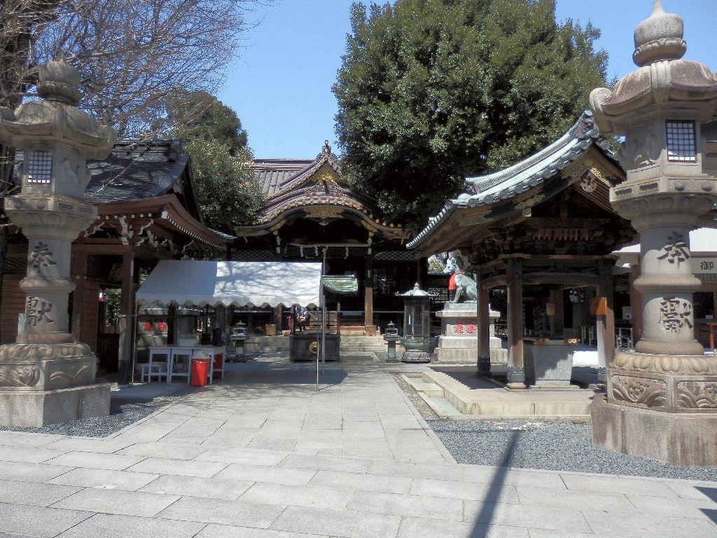 東京赤坂豊川稲荷別院本殿