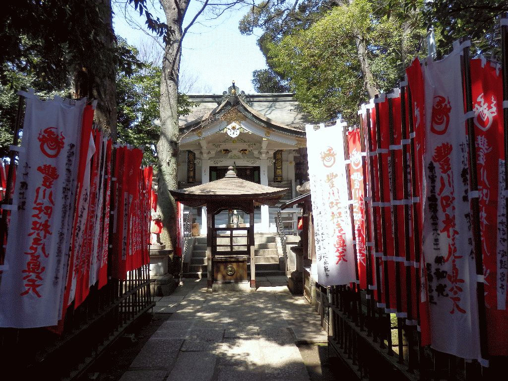 東京赤坂豊川稲荷別院奥之院