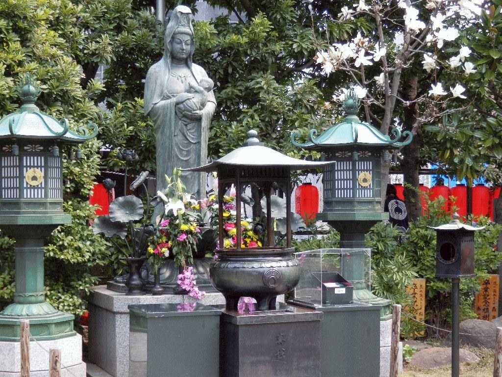 東京赤坂豊川稲荷別院子宝観音
