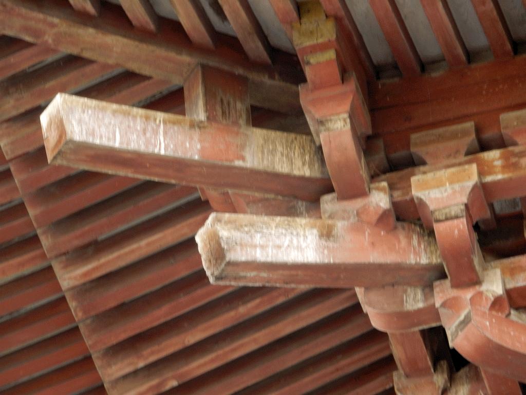 甚目寺三重塔