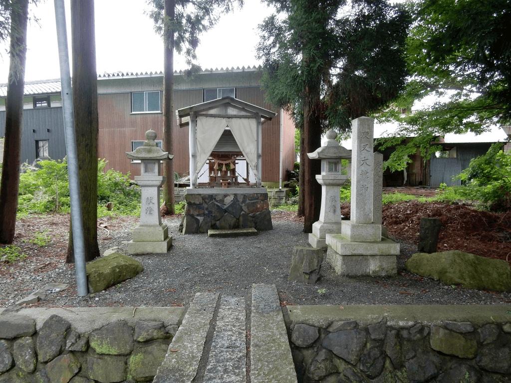 東柳野賣比多神社の龍神