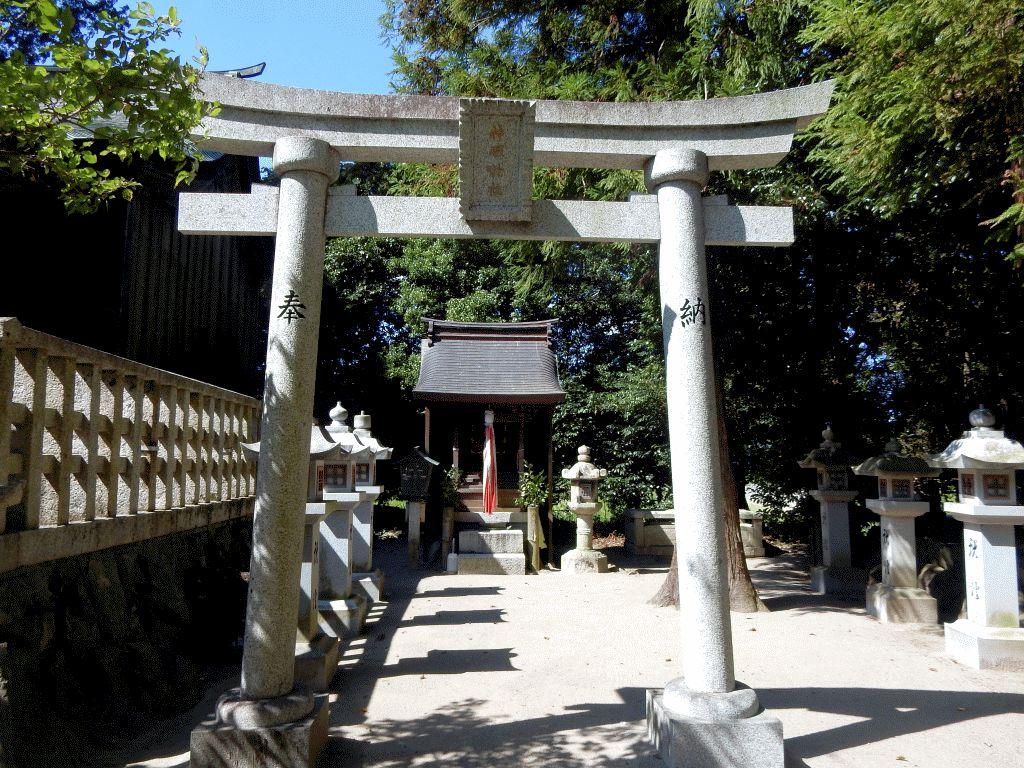 建部上中町天神社