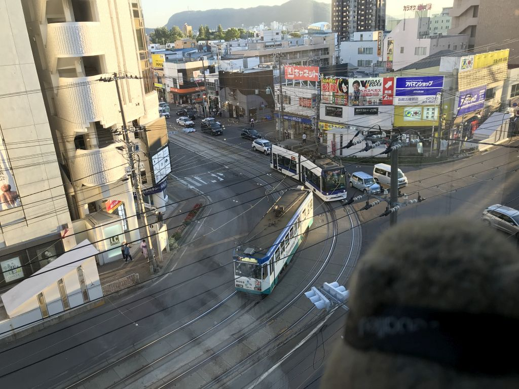 Watching streetcars