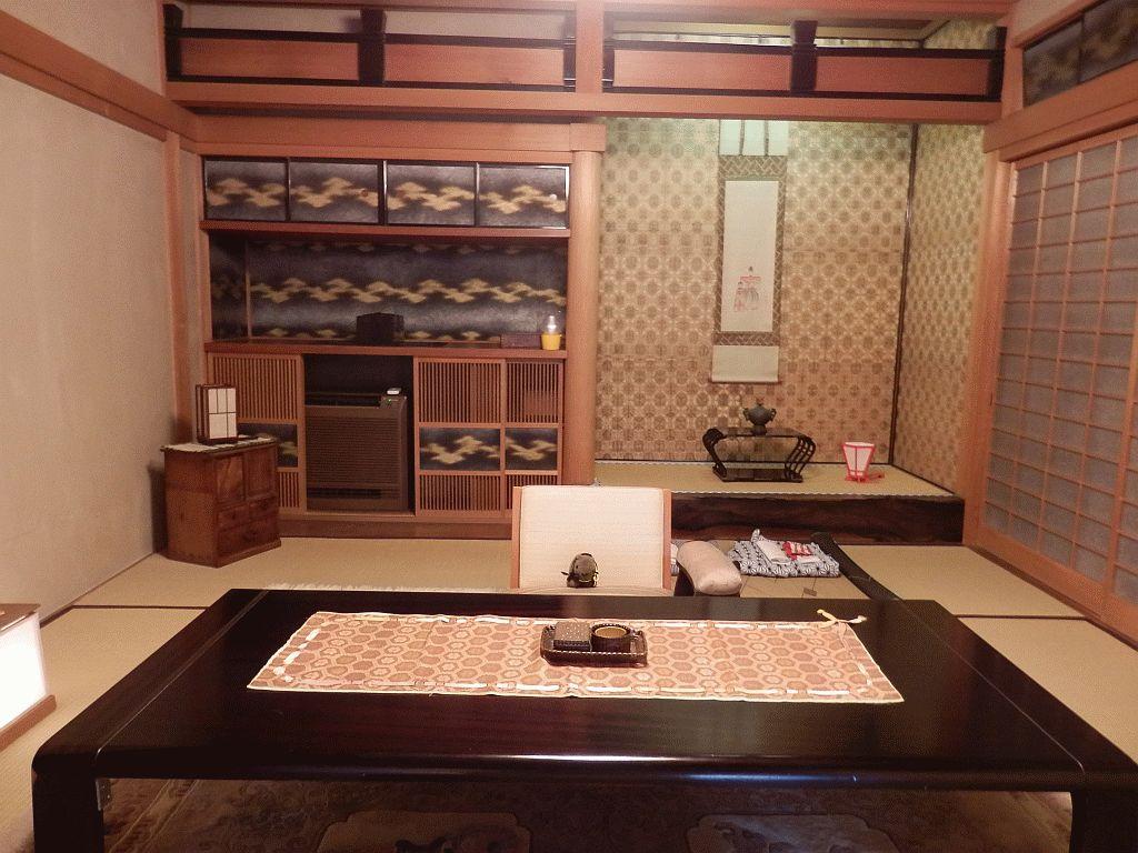 At Kikusui-ro in Nara